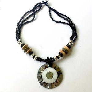 Jewelry - BOHO Iridescent Beaded Necklace